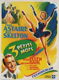 Three Little Words - 11 x 17 Movie Poster - French Style A