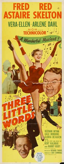 Three Little Words - 14 x 36 Movie Poster - Insert Style A