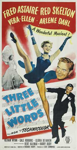 Three Little Words - 11 x 17 Movie Poster - Style D