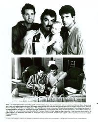 Three Men and a Baby - 8 x 10 B&W Photo #1