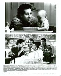 Three Men and a Baby - 8 x 10 B&W Photo #2
