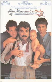 Three Men and a Baby - Movie Poster - 26 x 38 - Style A