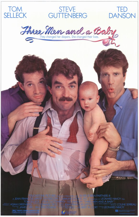 Three Men and a Baby Movie Posters From Movie Poster Shop