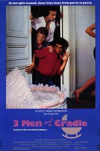Three Men and a Cradle - 27 x 40 Movie Poster - Style A