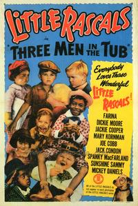 Three Men in a Tub - 27 x 40 Movie Poster - Style B