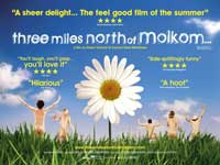 Three Miles North of Molkom - 11 x 17 Movie Poster - Style A