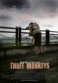 Three Monkeys - 43 x 62 Movie Poster - Bus Shelter Style A