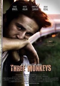 Three Monkeys - 43 x 62 Movie Poster - Bus Shelter Style B