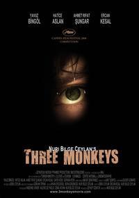 Three Monkeys - 11 x 17 Movie Poster - Style D