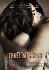 Three Monkeys - 27 x 40 Movie Poster - Style D