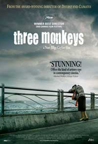 Three Monkeys - 11 x 17 Movie Poster - Style A