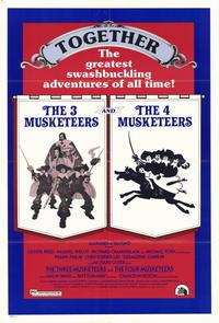 Three Musketeers/Four Musketeers - 11 x 17 Movie Poster - Style A