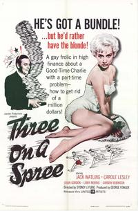 Three On a Spree - 11 x 17 Movie Poster - Style A