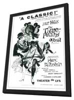 Three Penny Opera, The (Broadway) - 11 x 17 Poster - Style A - in Deluxe Wood Frame
