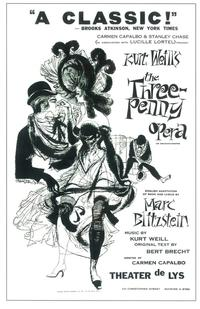 Three Penny Opera, The (Broadway) - 14 x 22 Poster - Style A