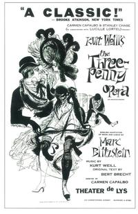 Three Penny Opera, The (Broadway) - 27 x 40 Movie Poster