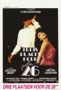 Three Places for the 26th - 27 x 40 Movie Poster - Belgian Style A