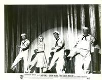 Three Sailors and a Girl - 8 x 10 B&W Photo #3