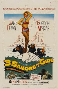 Three Sailors and a Girl - 11 x 17 Movie Poster - Style A
