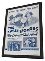Three Stooges: For Crimin Out Loud