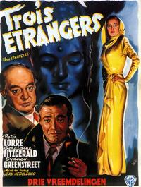 Three Strangers - 11 x 17 Movie Poster - French Style A