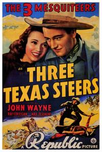 Three Texas Steers - 27 x 40 Movie Poster - Style A