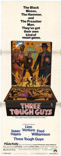 Three Tough Guys - 14 x 36 Movie Poster - Insert Style A