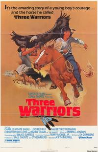 Three Warriors - 11 x 17 Movie Poster - Style A