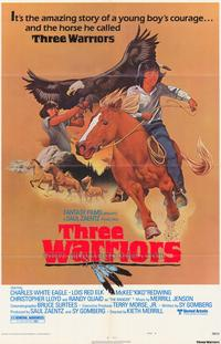 Three Warriors - 27 x 40 Movie Poster - Style A