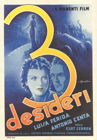 Three Wishes - 11 x 17 Movie Poster - Italian Style A