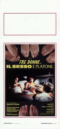 Three Women in Love - 13 x 28 Movie Poster - Italian Style A