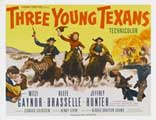 Three Young Texans - 27 x 40 Movie Poster - Style A