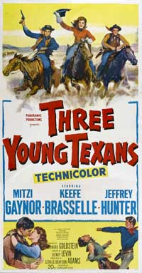 Three Young Texans - 20 x 40 Movie Poster - Style A