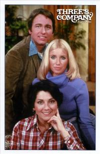 Three's Company - 43 x 62 Movie Poster - Bus Shelter Style C