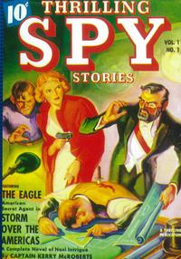 Thrilling Spy Stories (Pulp) - 11 x 17 Pulp Poster - Style A