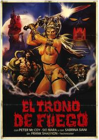 Throne of Fire - 11 x 17 Movie Poster - Spanish Style A