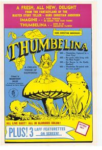 Thumbelina - 11 x 17 Movie Poster - Style A