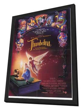 Thumbelina - 11 x 17 Movie Poster - Style B - in Deluxe Wood Frame