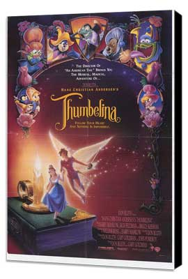Thumbelina - 11 x 17 Movie Poster - Style B - Museum Wrapped Canvas