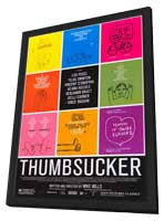 Thumbsucker - 11 x 17 Movie Poster - Style A - in Deluxe Wood Frame
