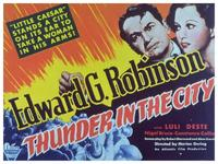 Thunder in the City - 11 x 14 Movie Poster - Style A