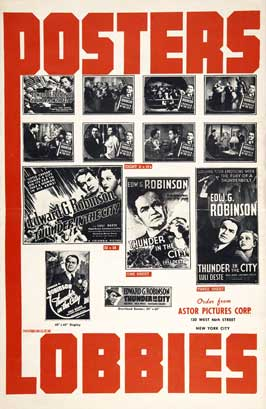 Thunder in the City - 27 x 40 Movie Poster - Style C