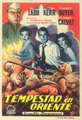 Thunder in the East - 11 x 17 Movie Poster - Spanish Style A
