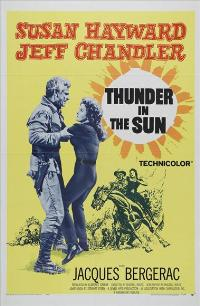 Thunder in the Sun - 27 x 40 Movie Poster - Style A