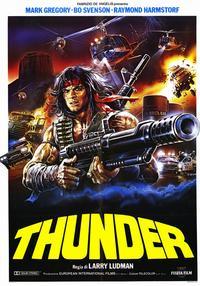 Thunder - 11 x 17 Movie Poster - Italian Style A