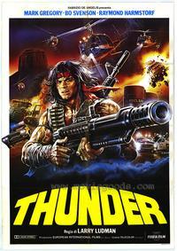 Thunder - 27 x 40 Movie Poster - Italian Style A