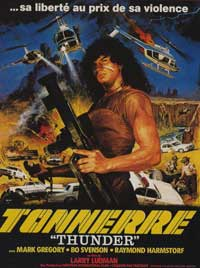 Thunder - 11 x 17 Movie Poster - French Style A