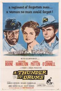 Thunder of Drums - 11 x 17 Movie Poster - Style A