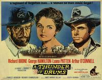 Thunder of Drums - 22 x 28 Movie Poster - Half Sheet Style A