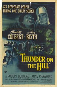 Thunder on the Hill - 11 x 17 Movie Poster - Style A